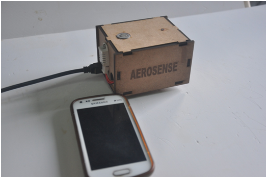Picture of  Smart Phone With Aerosensors