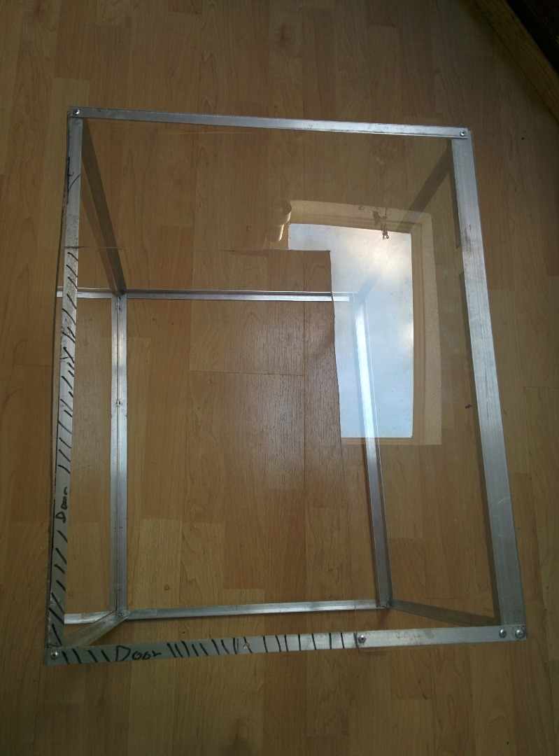 Picture of Add the Door (and Support Frame)
