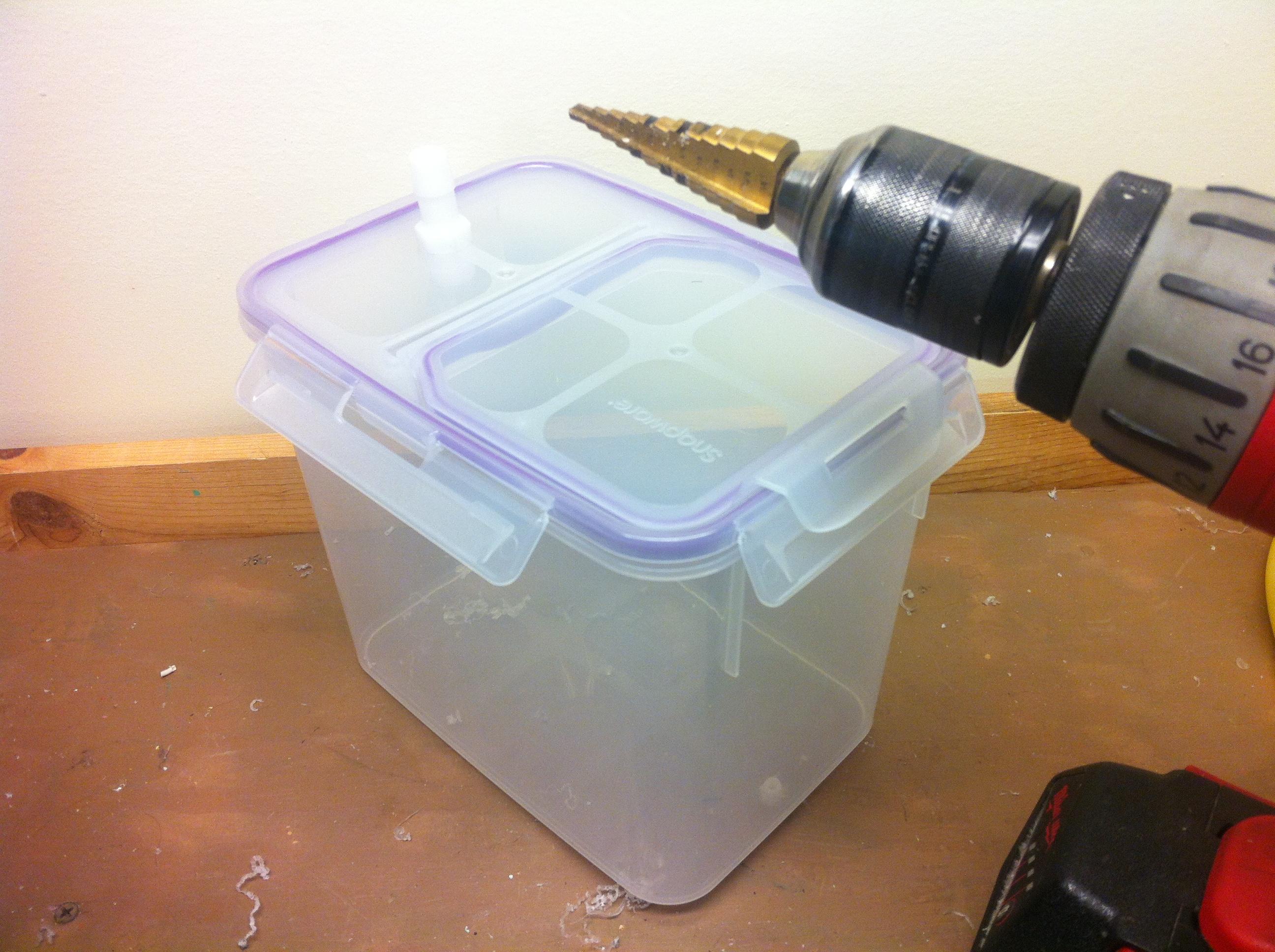 Picture of Prepare the Big Tupperware
