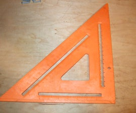 Speed Square as a Miter Gauge for your Table Saw Sled