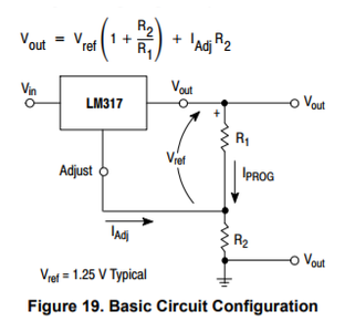 Power Supply LM317