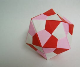Icosahedron Modular Origami
