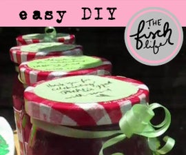 Easy Strawberry Jam Party Favors