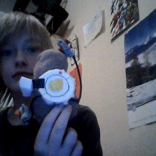 Potato GLaDOS Plush Toy