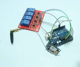 SMS Controller by Using SIM800L V2