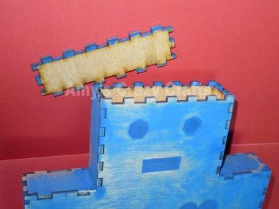 3-D Wall Art or Piggy Bank