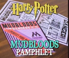 Mudbloods Pamphlet