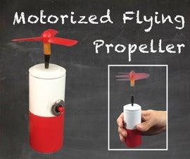 Motorized Flying Propeller