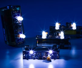 Joule Thief LED Night Light