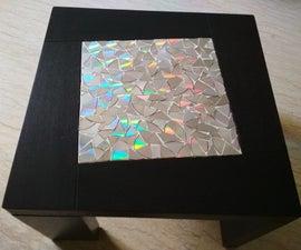 CD Mosaic Table Top