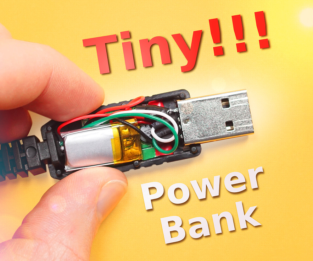 Power Bank Inside A Usb Cable 10 Steps With Pictures Wiring Diagram5pin Micro Cableled Product On