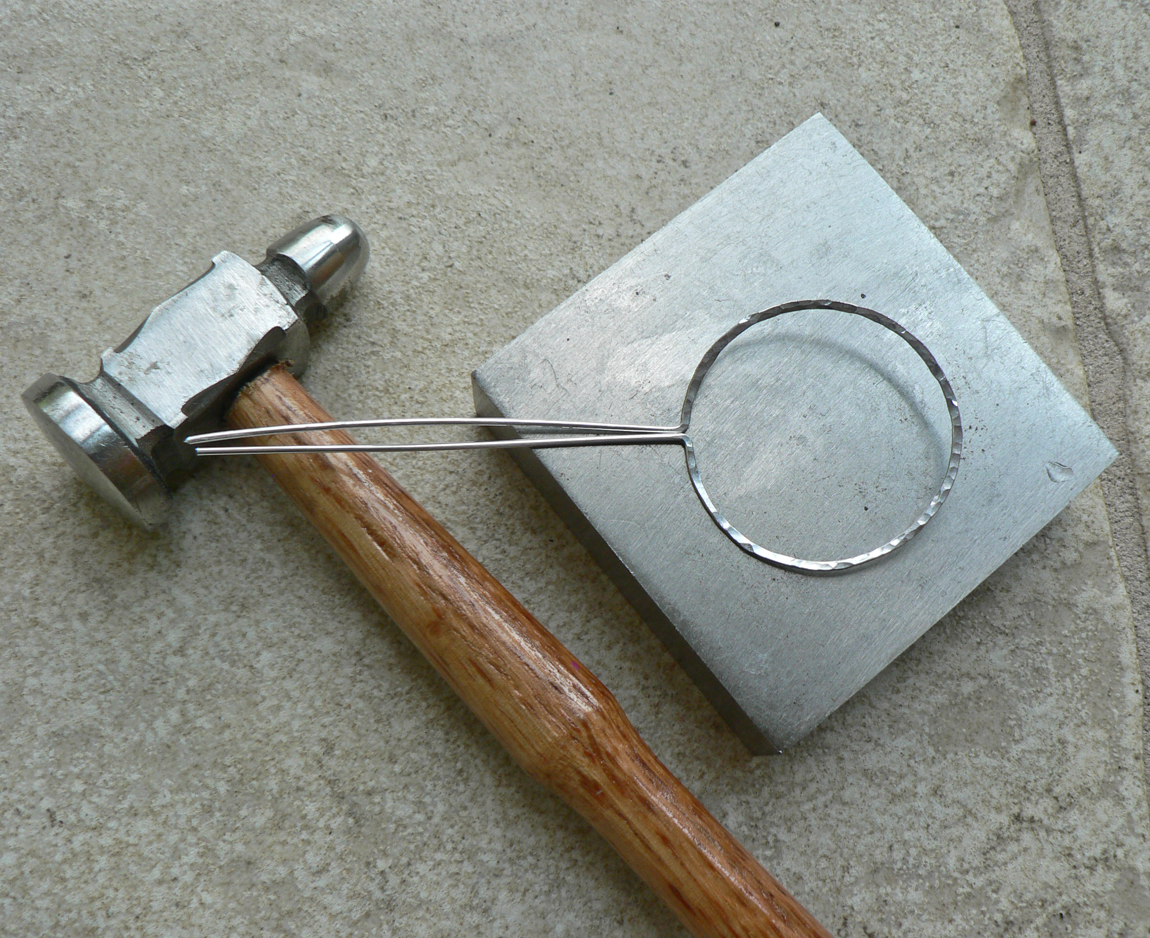 Picture of Hammering the Frame