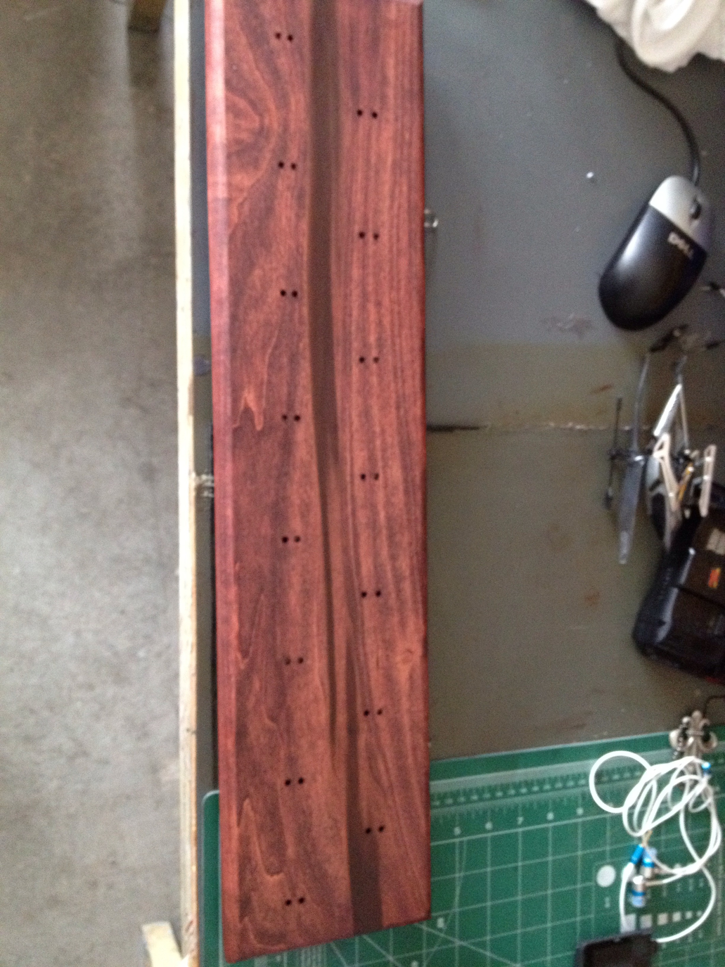Picture of Stain & Polyurethane