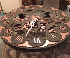 Steampunk Clock Theater Prop