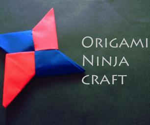 DIY Origami Nija Star