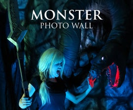Fell Beast Photo Booth Wall