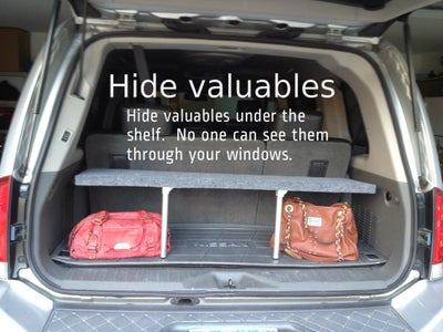 Handy Pop-up Trunk Shelf