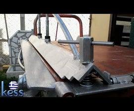 DIY Sheet Metal Bender Brake Fully Modified