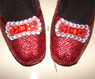 Replica Ruby Slippers (from Oz)