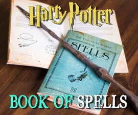 Harry Potter-Inspired Spellbook