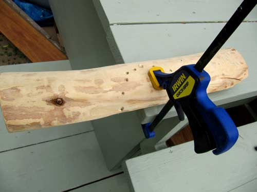 Picture of Feet: Clamp to Workbench (2 Min)