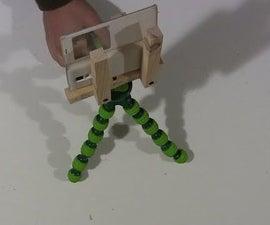 DIY cellphone tripod mount
