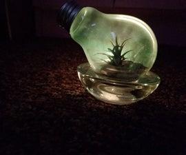 Atrium Made From Light Bulb
