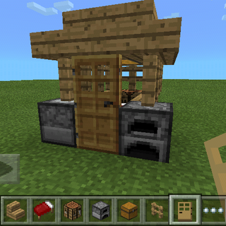 Minecraft Starter House 6 Steps Instructables