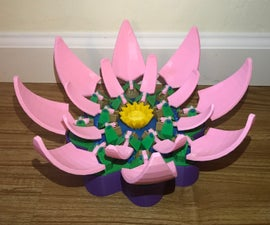 Blooming Lotus Automata