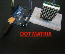 Arduino 8x8 DOT_Matrix