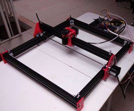 Laser engraver with arduino