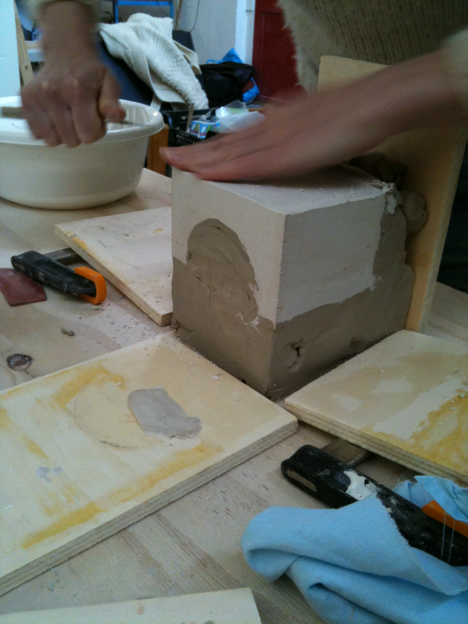 Picture of Creating the Molds