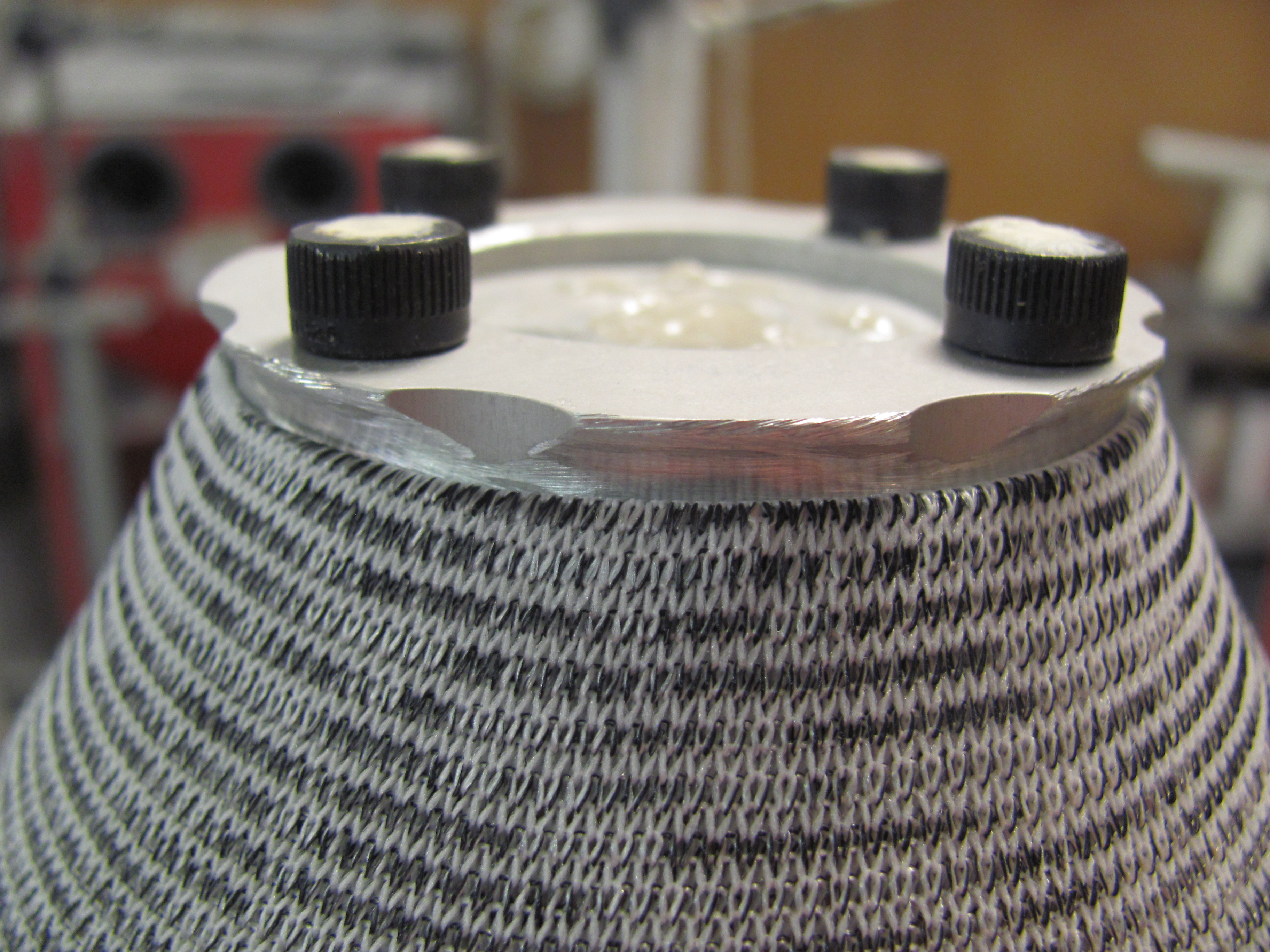 Picture of Definitive Socket: Two Stage Lamination.