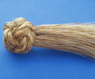 Manrope Knot Whisk Broom