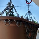 Chainmail Hanging Basket