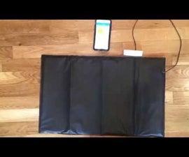 In-Bed Presence Detector (SmartThings + Z-wave pressure mat)