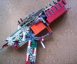 """""""True Trigger"""" Addition to One Shot Knex Gun/Pistol by bannana inventor"""