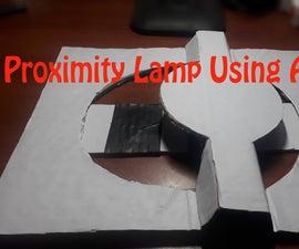 Proximity Lamp Using Arduino