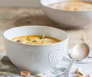 Vegan Cream of Carrot Soup