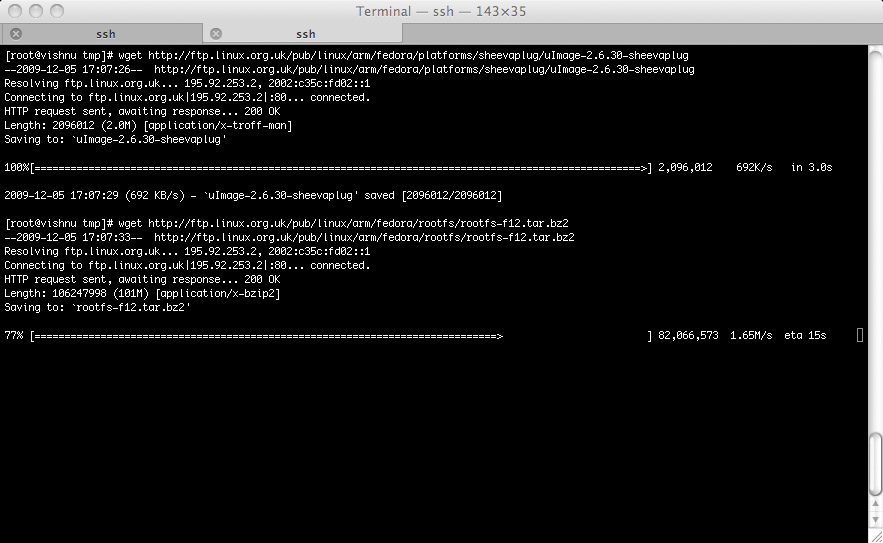 Picture of Get the Distro and Kernel