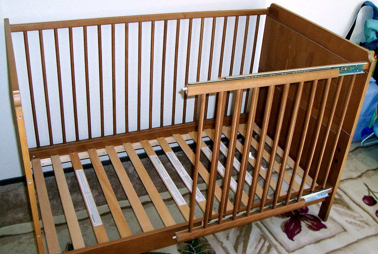Picture of Assemble the Crib With the Modified Rail