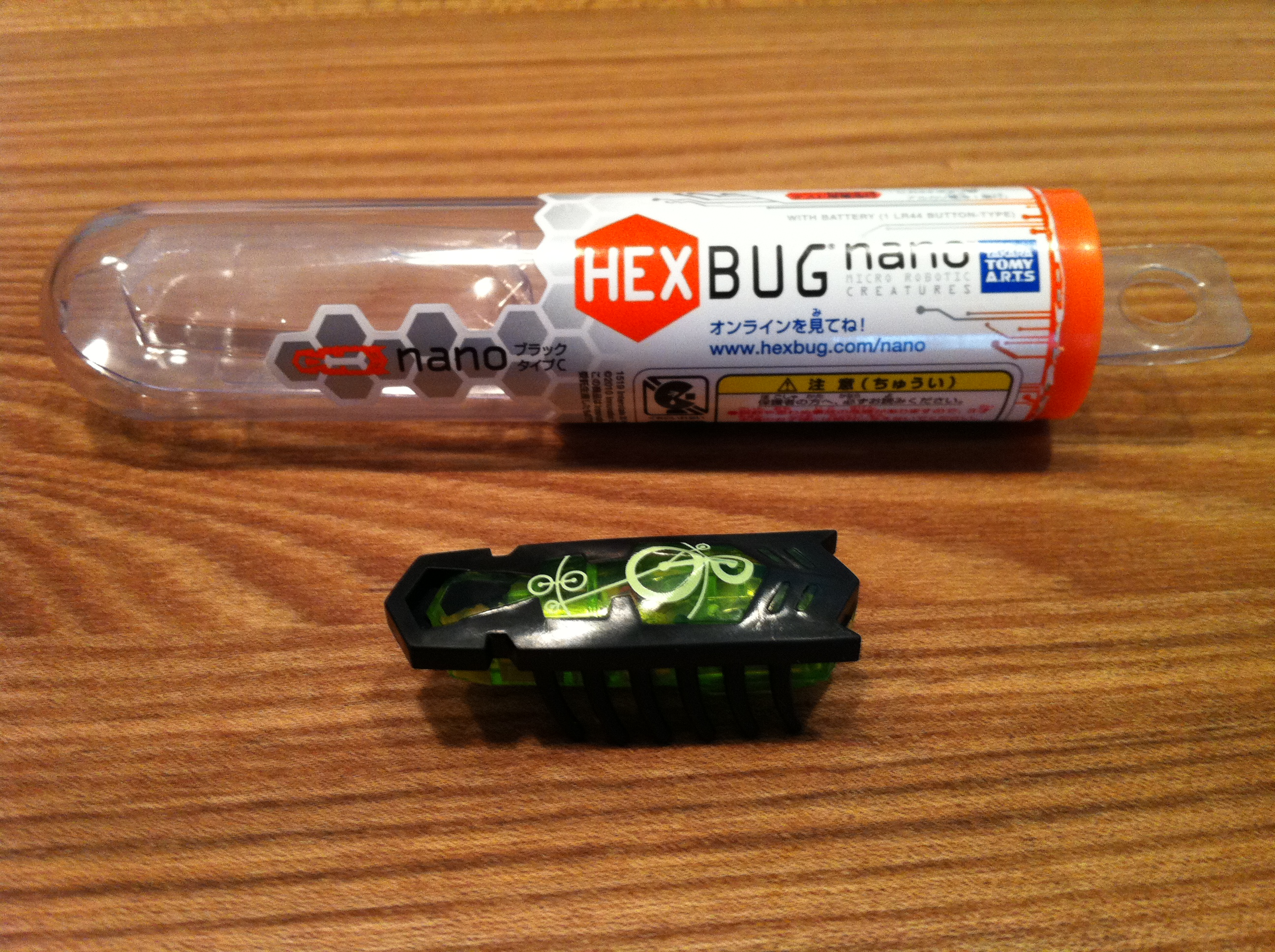 Picture of How to Make a HEXBUG Nano to Be Activated by Light.