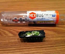 How to make a HEXBUG nano to be activated by light.