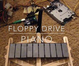 DIY Floppy Drive Piano (Floppiano)
