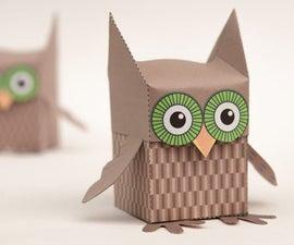 Paper Owl Box