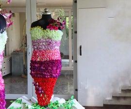 Garden Party Flower Dress Centerpiece