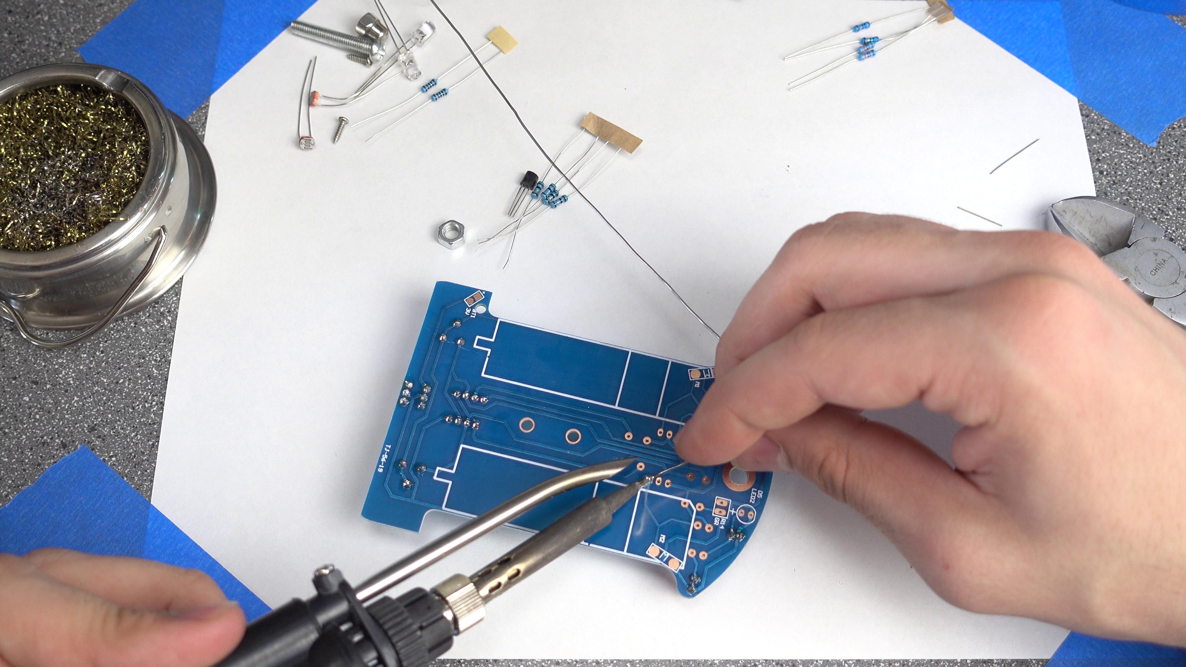 Picture of Soldering: Transistors