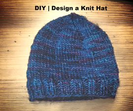 DIY  |  Knit a Hat without a pattern  | Basic design made easy