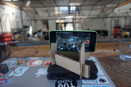 Quick and Cheap IPhone Stand for Stop Motion