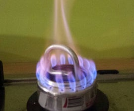 Efficient alcohol stove with a drop-in wick pipe